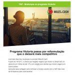 Victoria TAP anuncia importantes mudanças em seu programa…