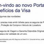 Bilhetes de seguros de viagem Visa agora precisam ser emitidos apenas uma vez ao ano