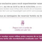 Smiles oferece o quádruplo (4x) de milhas em reservas de hotéis