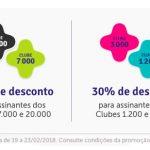 Livelo com 40% de desconto na compra de pontos para os Clubes 7.000 e 20.000