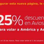 Iberia Plus com 25% de desconto nos resgates com trechos de/para Madrid.