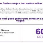 Bônus cartões de crédito 60% para o Smiles. Só!?