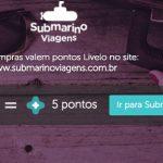 Livelo e Submarino Viagens anunciam acúmulo de pontos turbinado no Livelo Day (17/04): 5 pontos por real