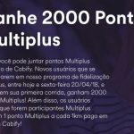 Ganhe 2.000 pontos Multiplus Fidelidade na primeira corrida com o Cabify