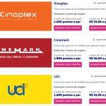 Clientes dos cartões de crédito Ourocard BB inscritos no Livelo resgatam 2 ingressos pelo preço de 1, no Kinoplex, Cinemark e UCI