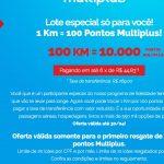 Acabou: lotes de 10 mil pontos Multiplus por R$ 269 no KM de Vantagens só disponíveis pra quem nunca comprou esse lote! :-(