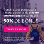 Bônus 20% ou 50% Livelo para Iberia Plus, British Airways, IHG, Flying Blue etc.