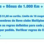 KM de Vantagens: compra de lotes de 10 mil pontos Multiplus Fidelidade por R$ 247,86, para participantes do Clube 10.000