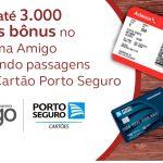 Compra de passagens internacionais Avianca Brasil nos cartões de crédito Porto Seguro acumulam até 3 mil pontos Amigo extras