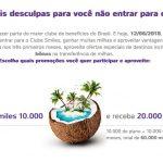 Bônus de adesão ao Clube Smiles 10 mil: oportunidade de compra de blocos de 10 mil milhas por R$ 199,33