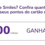 Bônus 75% fixos cartões de crédito para o Smiles, para membros do Clube/Diamante